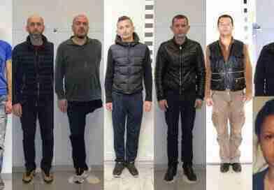 ალბანელი ხელ-ფეხის გარეშე: საბერძნეთის პოლიცია კრიმინალების ფოტოებს ავრცელებს
