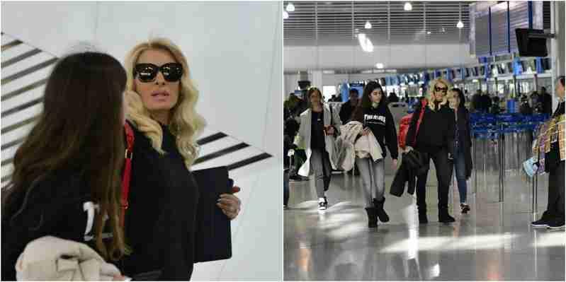 """""""სულ ლოდინი და ლოდინი"""" – გაცოფებული მენეღაკი თესალონიკის აეროპორტში"""